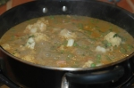 Mixed Vegetables Simmering in a Rich Spice Gravy